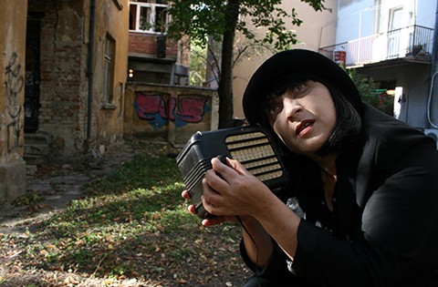 A SMALL RADIO – solo performance by Maya Novoselska