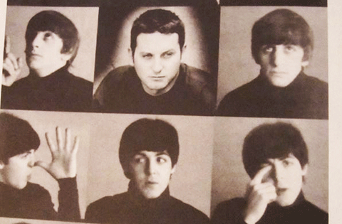 READING T.S.ELIOT AND LISTENING TO THE BEATLES